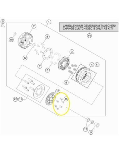 Filtro de Aire Hiflofiltro HFF6112